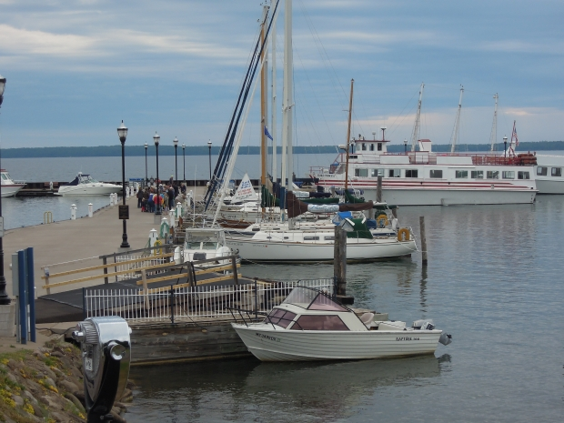 The Lake Superior city of Bayfield has cut its 2021 budget by 10 percent, and the city's mayor says it's reaching a tipping point if it can't find a sustainable source of funding. Danielle Kaeding/WPR