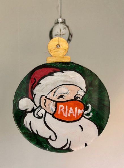Ornament by Samantha Belles, Kenosha. Photography: Jessica Zalewski/Racine Art Museum.