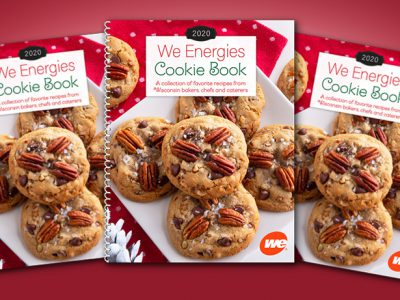 Kick off your holiday season with the 2020 We Energies Cookie Book