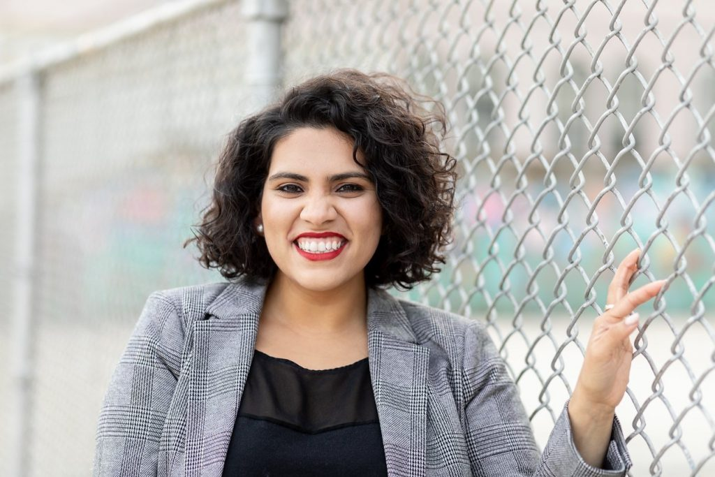 Jilly Gokalgandhi. Photo from Jilly for MPS.