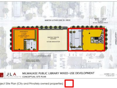 Eyes on Milwaukee: New Plan To Replace MLK Library