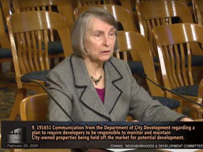 City Hall: Brown Appointed To City Plan Commission