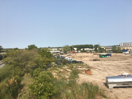 A former auto salvage yard in Neenah is in the early process of being redeveloped. / Photo Credit: City of Neenah