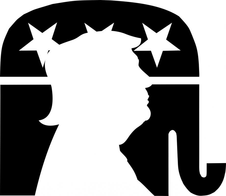 GOP and Donald Trump. Pixabay License
