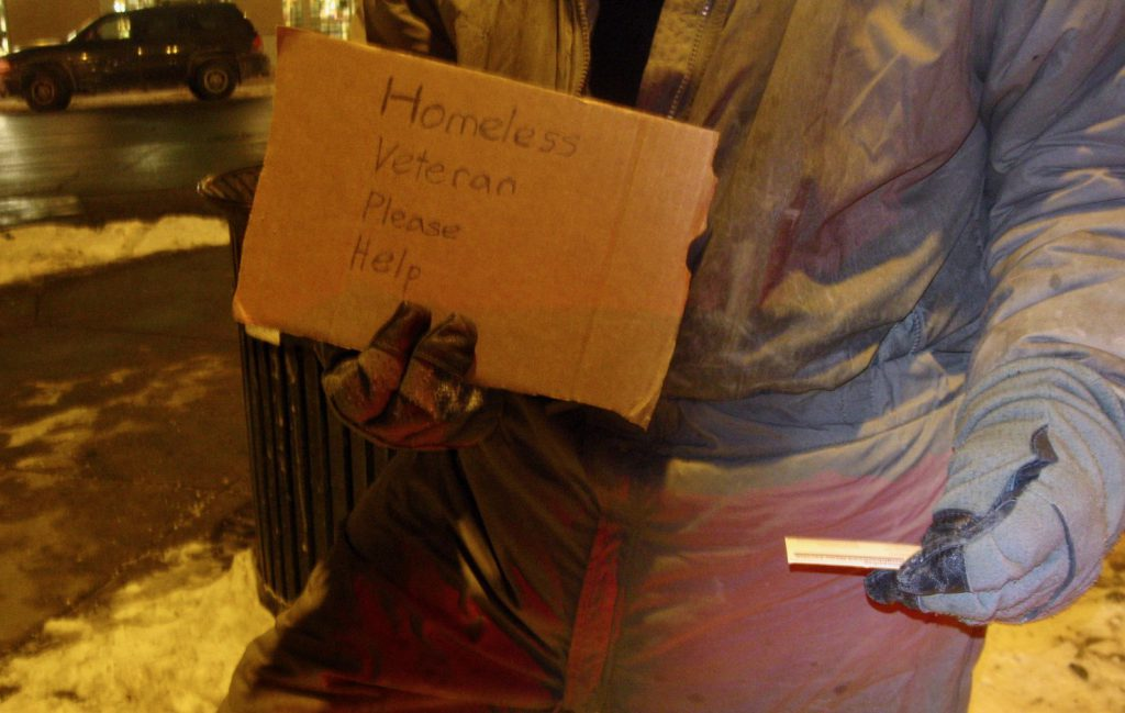 The 'right to shelter' resolution applies to anyone experiencing chronic homelessness. File photo by Edgar Mendez/NNS.