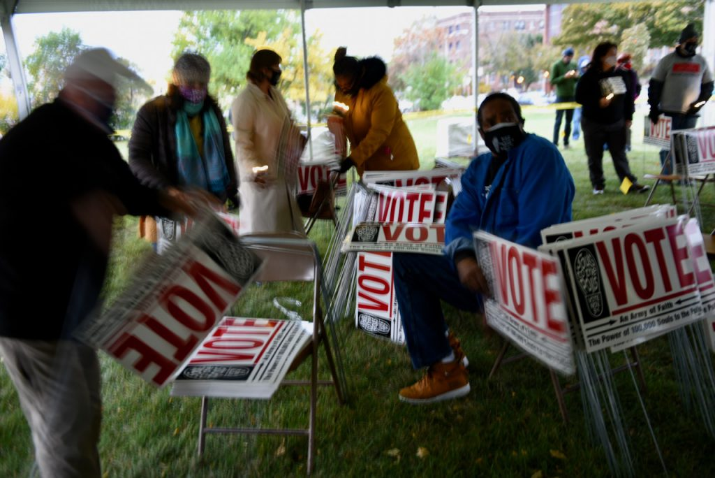Groups across Milwaukee worked hard to get out the vote this year. Now they are turning their attention to holding elected officials accountable. Photo by Sue Vliet/NNS.
