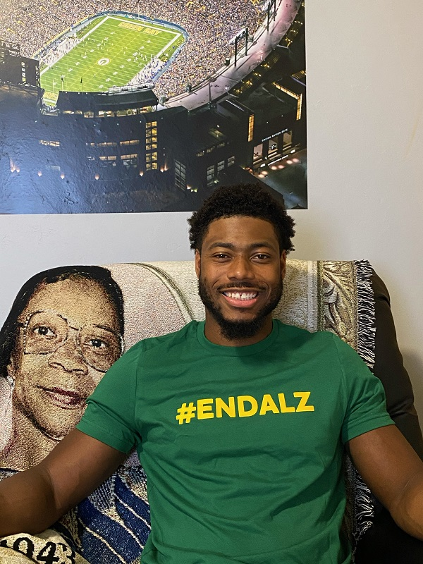 Adrian Amos Exceeds $50,000 in Donations and Kicks Off New Fundraiser to Fight Alzheimer's