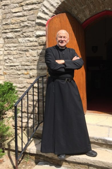 David Couper left a career as a police officer and Madison police chief and became an Episcopal priest. Courtesy of David Couper
