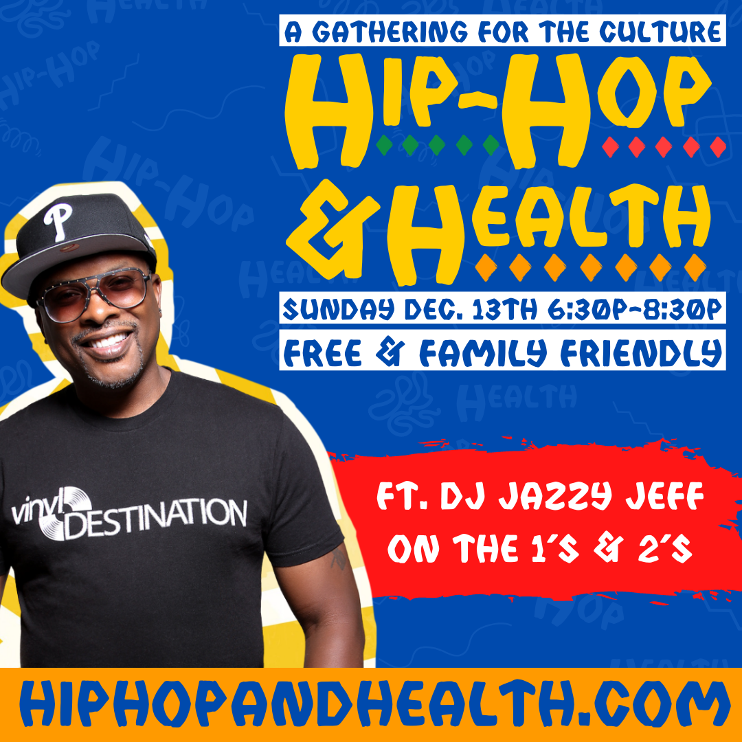 Milwaukee Organizations Join DJ Jazzy Jeff and Local Music Influencers, for the Hip Hop and Health Virtual Event