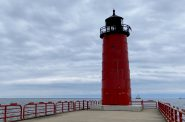 Start your walk at the lighthouse. Photo by Cari Taylor-Carlson.