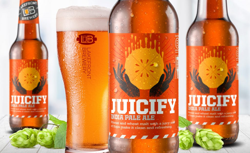 Juicify. Photo courtesy of Lakefront Brewery.