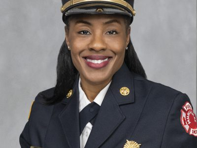 Congratulations to new MFD Deputy Chief Sharon Purifoy