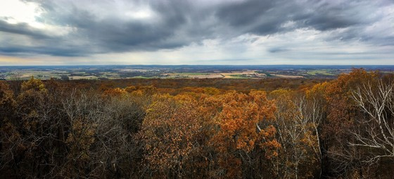 View of Blue Mound State Park from the top of East Tower. A draft of the park's master plan is now available for public review and comment online. / Photo Credit: Wisconsin DNR