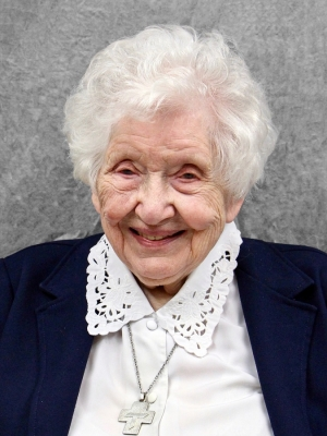 Sister Annelda Holtkamp. Photo courtesy of School Sisters of St. Francis