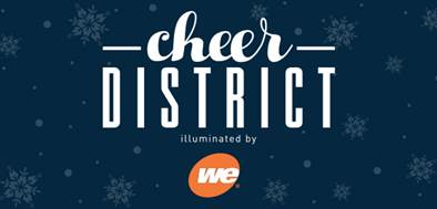 Deer District Transforms into Cheer District Illuminated by We Energies for Holiday Season