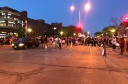 Protest outside of Wauwatosa City Hall. Photo taken June 4th, 2020 by Jeramey Jannene.