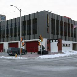 Milwaukee Fire Department headquarters, 711 W. Wells St. Photo by Jeramey Jannene.