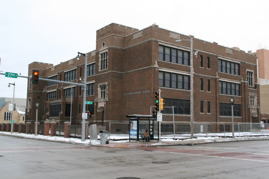 Eyes on Milwaukee: Wiegand Still Redeveloping Wisconsin Avenue School