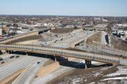 McKinley Interchange. Photo taken March 20th, 2013 by Jeramey Jannene.