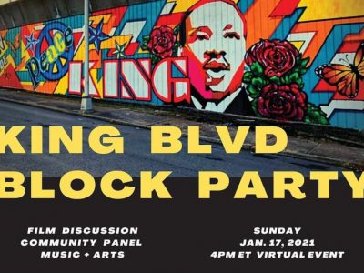 Entertainment at a Distance: Virtual Discussion of MLK Boulevards Around the Country