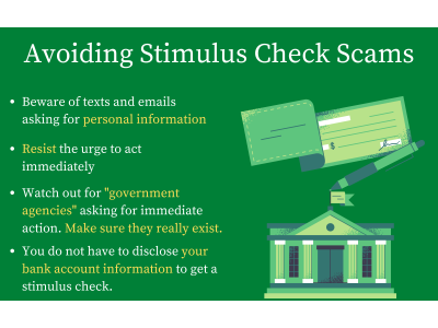 How To Avoid Stimulus Check Scams