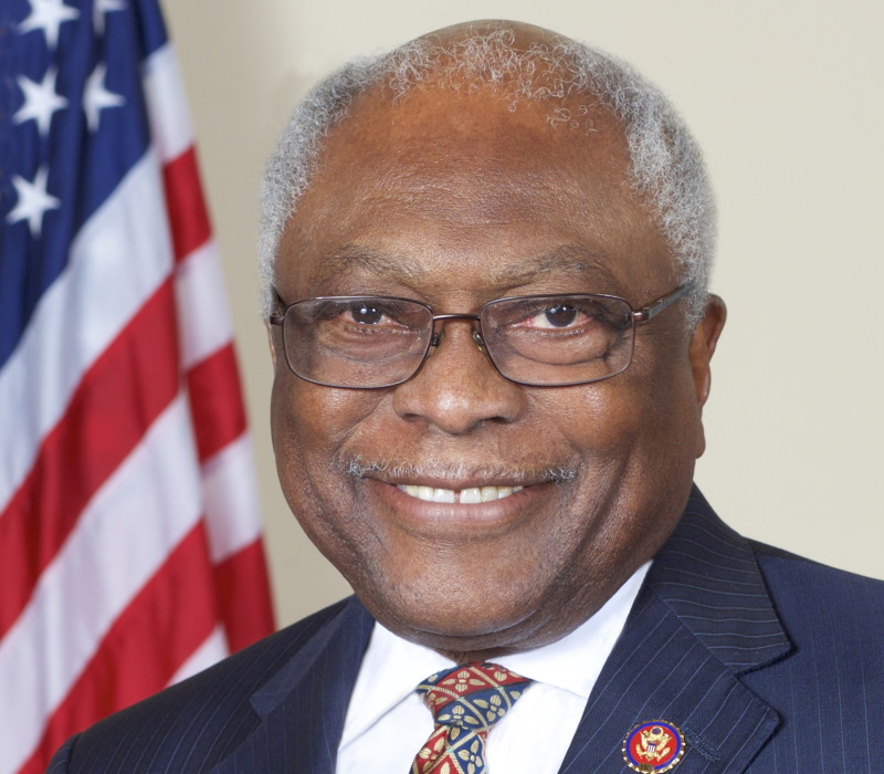 James Clyburn. Photo by Donald Baker, Public domain, via Wikimedia Commons