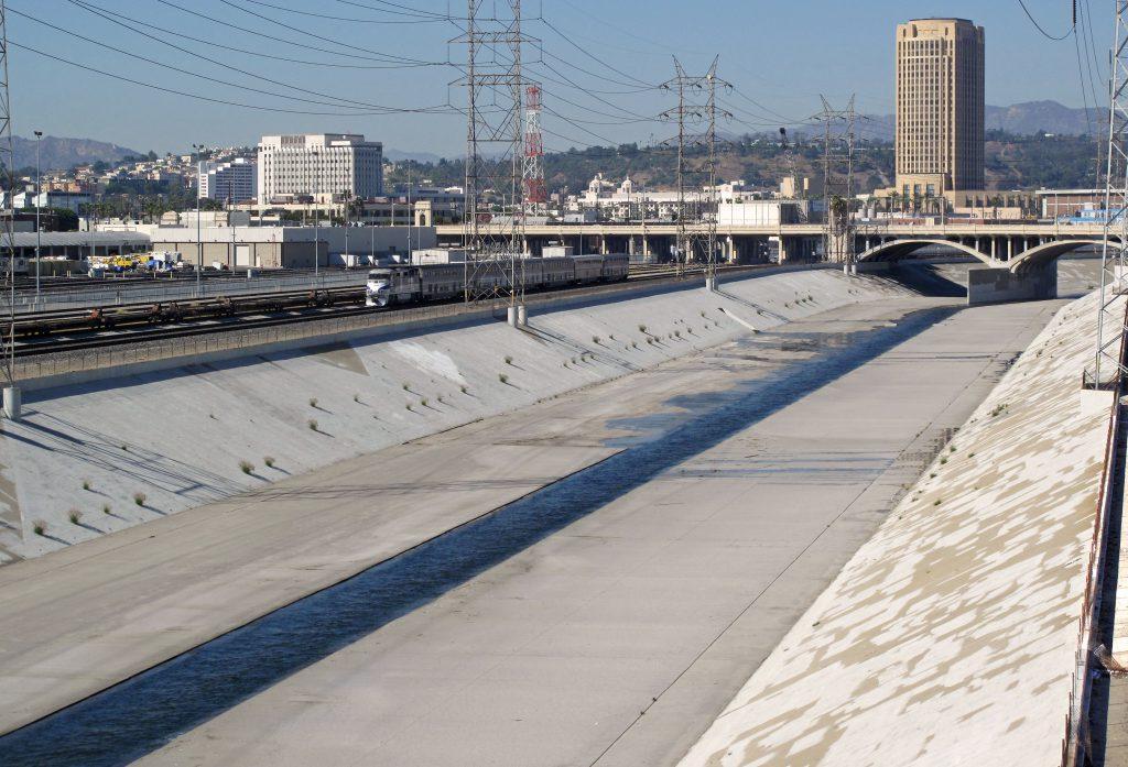L.A. River. Photo by Downtowngal, CC BY-SA 3.0 , via Wikimedia Commons