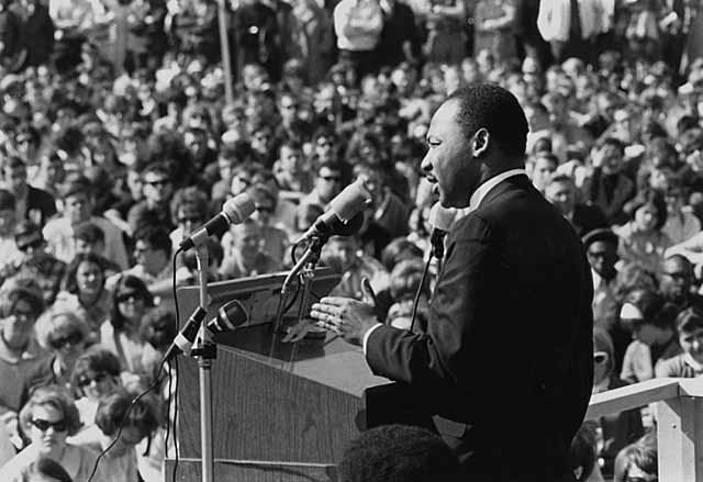 Dr. Martin Luther King, Jr. Minnesota Historical Society, CC BY-SA 2.0 , via Wikimedia Commons