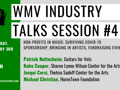 WMV Industry Talks Session #4 – Non-Profits in Music: Surviving COVID-19