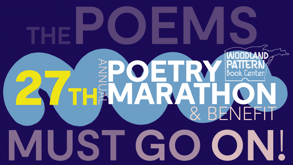 Annual Poetry Marathon and Benefit.