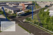 Beerline Trail linear park plan. Rendering by Hood Design Studio.