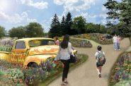 Highway 41 Historic Gardens rendering.