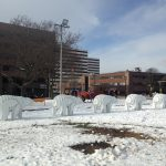 New Art Installation in Cathedral Square Park