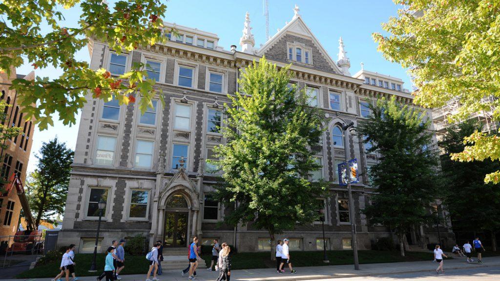 Johnston Hall. Photo courtesy of Marquette University.