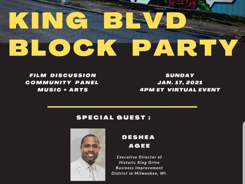 King Blvd Block Party