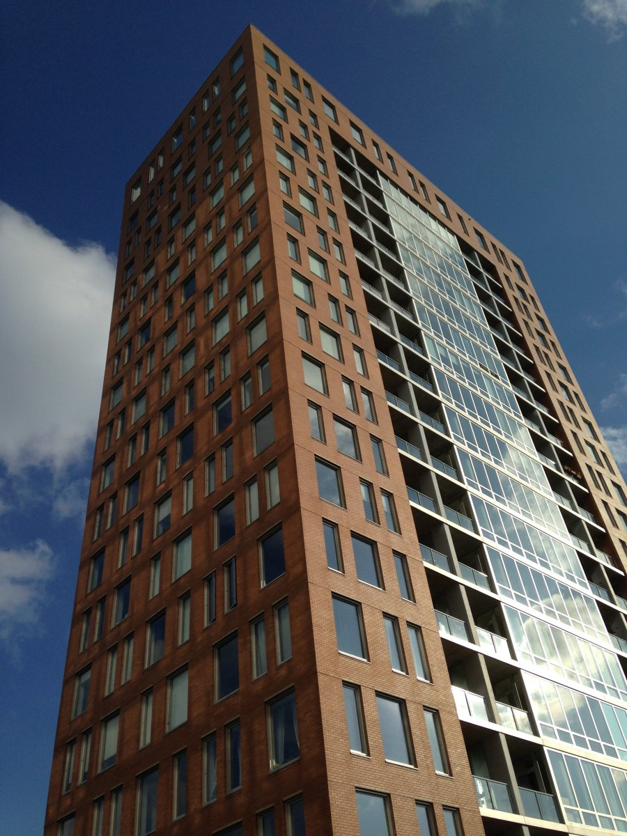 One of the Park Lafayette towers. Photo by Dave Reid.
