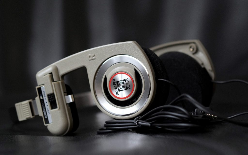 Koss Corporation headphones. (Pixabay License).