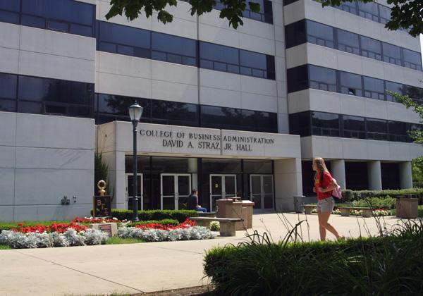 Straz Hall. Photo courtesy of Marquette University.