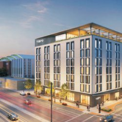 Tempo by Hilton hotel. Image from HKS Holdings/FirstPathway Partners.