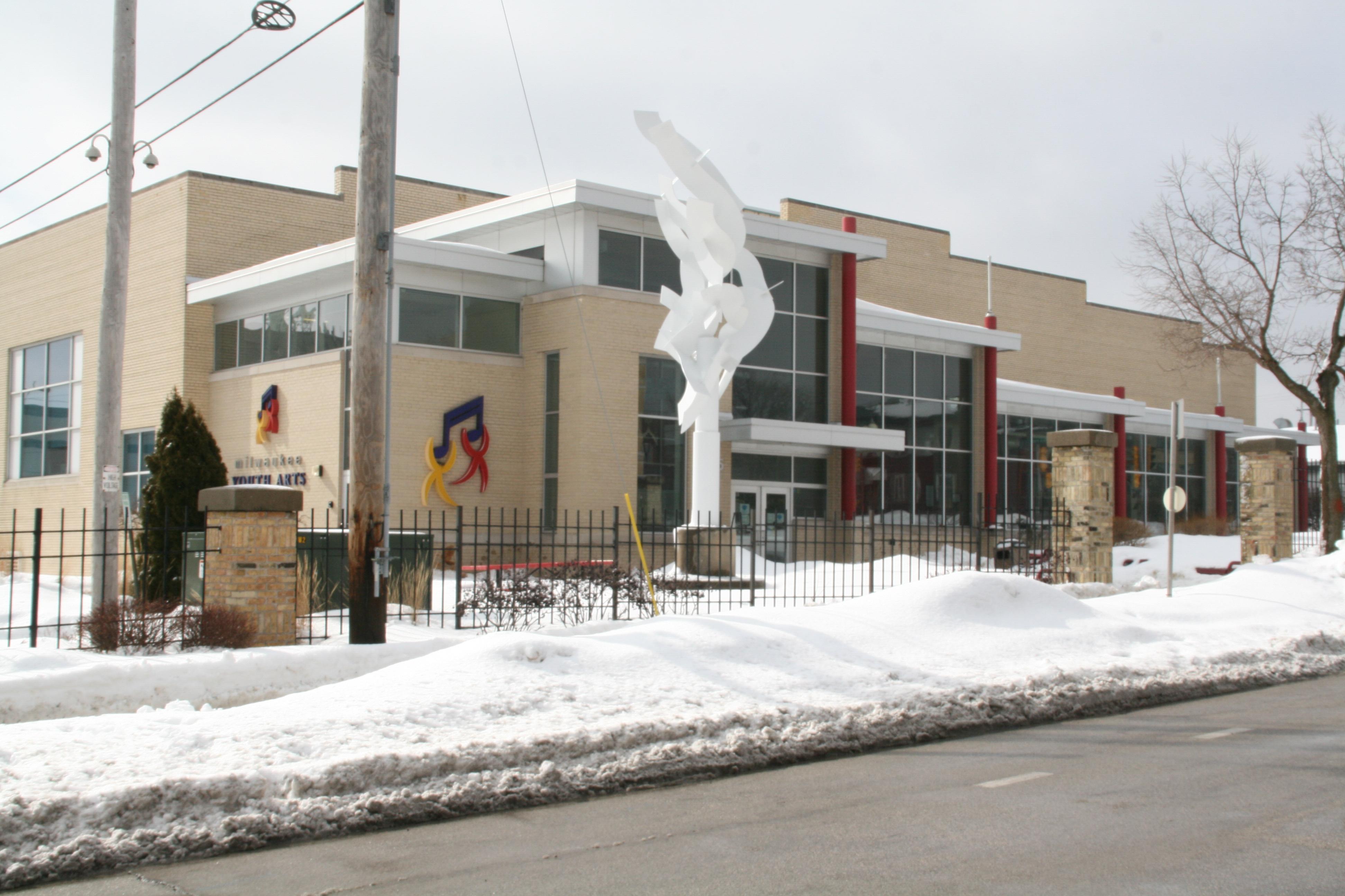 Milwaukee Youth Arts Center, 325 W. Walnut St. Photo by Jeramey Jannene.