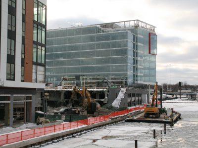 Eyes on Milwaukee: Demolition Underway on River One