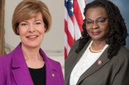 U.S. Senator Tammy Baldwin and U.S. Rep. Gwen Moore.