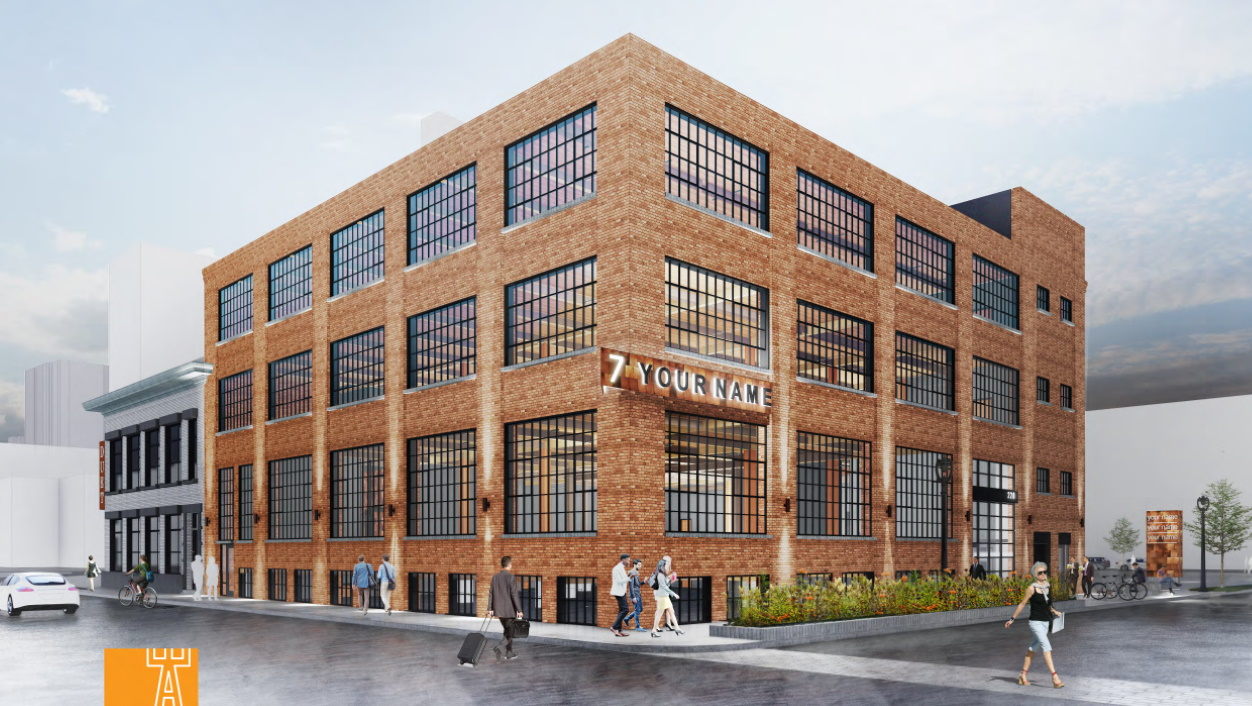 228 S. 1st St. rendering. Rendering by Engberg Anderson Architects.