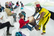 The Milwaukee Art Museum is celebrating Black History Month with Kohl's Haitian Gallery, which includes weekly performances by local artists. Photo provided by the Milwaukee Art Museum.
