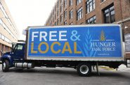 The Hunger Task Force operates the Mobile Market, which takes fresh groceries across Milwaukee County. File Photo by Sue Vliet/NNS.
