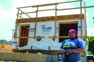 "Once accepted into the homeownership program, you will complete ""sweat equity"" instead of paying a down payment. 2020 file photo provided by Habitat for Humanity."