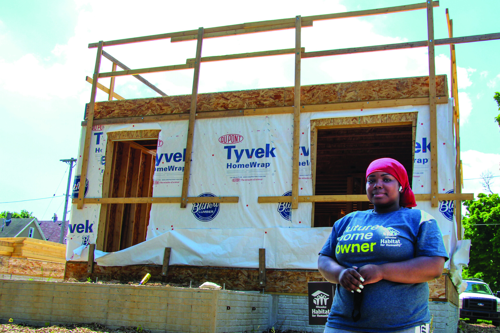 """Once accepted into the homeownership program, you will complete """"sweat equity"""" instead of paying a down payment. 2020 file photo provided by Habitat for Humanity."""
