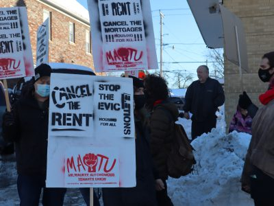 City Activists Call for Rent Cancellation