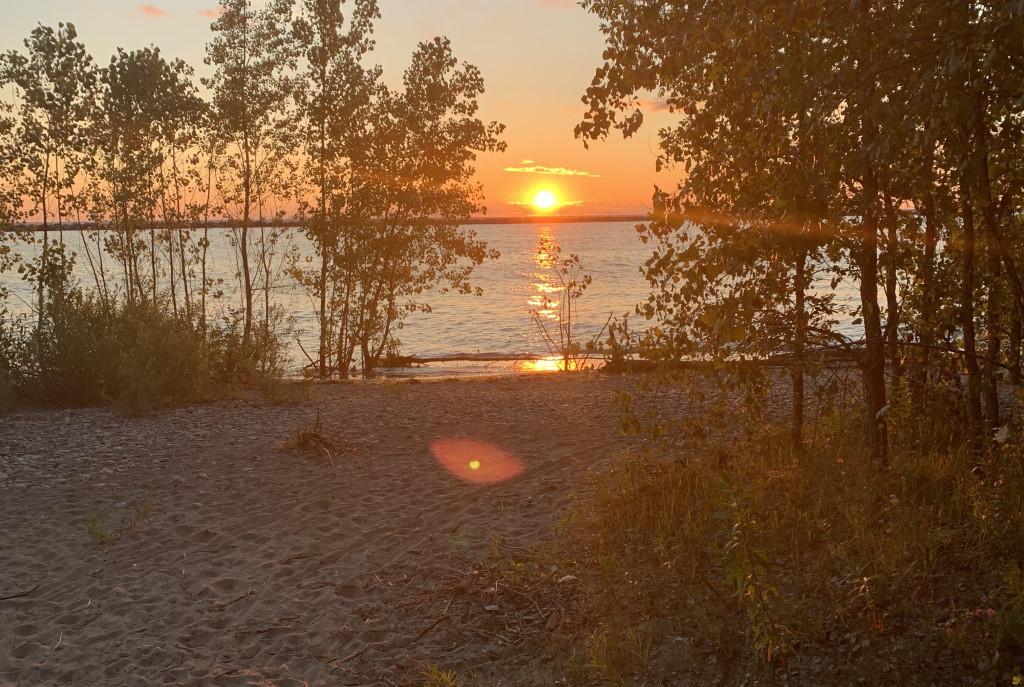 Bay View Park at sunrise. Photo by Jeramey Jannene.