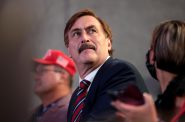 MyPillow CEO Mike Lindell. Photo by Gage Skidmore from Surprise, AZ, United States of America, CC BY-SA 2.0 , via Wikimedia Commons